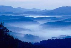 The Cherokee Indians called it The Land of the Blue Smoke before it became known as the Smokey Mountains. =)