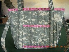 Army Issue Camo Diaper Bags & Purses