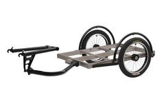 Surly Ted Bike Cargo Trailer Haul up to 300 pounds on this 32 by 24-inch load bed.