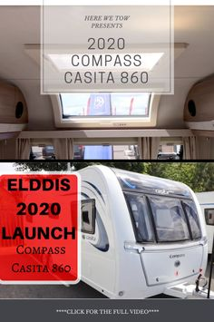 We were fortunate enough to be invited to the press launch for the 2020 Elddis range. Here we got to look around all the new vans that will be on the market for the upcoming year. Check out this first look at the all new Casita 860 Caravan Reviews, Caravans, Compass, Over The Years, Trailers, Camper, Product Launch, Range, Check