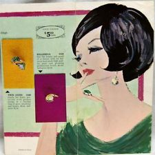 SARAH COVENTRY RINGS OF FASHION JEWELRY ADVERTISING BROCHURE 1966 VINTAGE