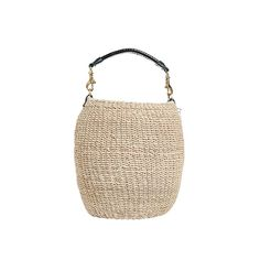 Honey-pot straw bag! This would be a thrift score!