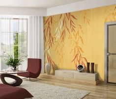 Tella Peel and Stick Murals Volume 1 by 4Walls Vignette_8925