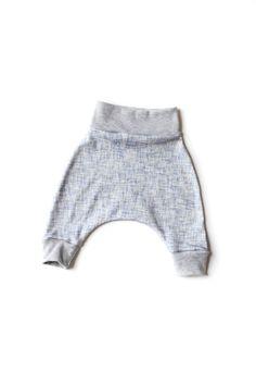 Baby Harem Pants/ Organic Harem Pants/ Gender by babysproutsco