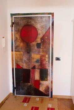 porta #Paul #Klee opera: #RED BALLOON
