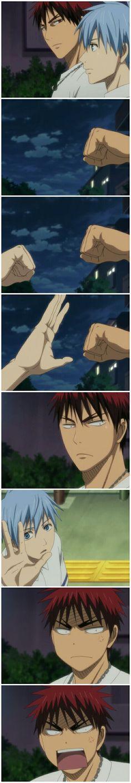 Kagami you know, kertaslah yang menang. Oohh my tetsuya ≥3≤   || kuroko tetsuya || kagami taiga || seirin team || kuroko no basuke