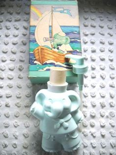 Vintage Avon Baby Elephant Lotion Pump Dispenser 8oz 1984 | eBay