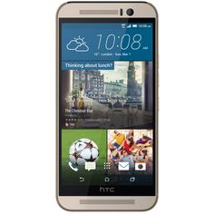 Telefon mobil HTC One M9, 32GB, 4G, Gold on Silver