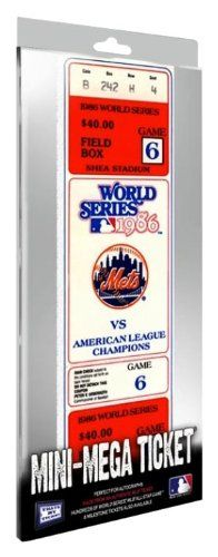 MLB New York Mets 1986 World Series Game 6 MiniMega Ticket >>> You can get additional details at the image link. (Note:Amazon affiliate link)