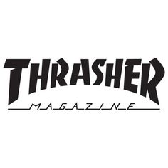 Surf Stickers, Brand Stickers, Tumblr Stickers, Logo Stickers, Mascot Design, Logo Design, Magazine Fonts, Thrasher Magazine, Logo Branding