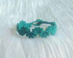 Lace micro macrame bracelet #my_armcandy Friendship Bracelets Designs, Bracelet Designs, Micro Macrame, Macrame Bracelets, Knots, Crochet Necklace, Patterns, Jewelry, Ideas