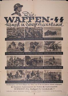 """""""Die Waffen-SS kämpft in Sowjetrußland ... Meldungen von Freiwilligen"""" (SS-Hauptamt)"""