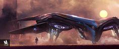 Guardians of the Galaxy- Quill's Ship by atomhawk.deviantart.com on @DeviantArt