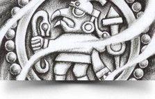 aztec warrior tat Silver Eagle Warrior