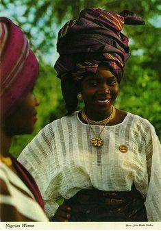 Yoruba women, Nigeria.