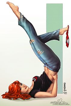 WWW. BARE FEET@ PREGANT GIRLS PIN IT CARTOON | Mary Jane by SquirrelShaver