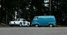 This Alpine A110 and Renault Estafette are the perfect Tour Auto twosome https://www.classicdriver.com/en/node/376633