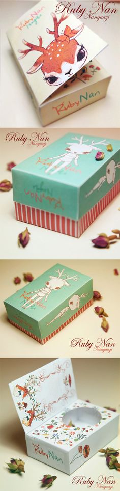 BJD Cervatillas Ruby Nan Nanguazi. I missed this sweet #packaging at #Christmas PD
