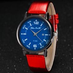 Geneva Mens Quartz Watch Fashion Alloy Case Date Watches Synthetic Leather Male Analog Sport Gift Wristwatch Reloj Mujer A2 To Enjoy High Reputation In The International Market Men's Watches