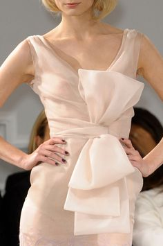 ❦ Christian Dior Haute Couture SS 2012 Details  pink confection ... perfect !