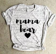 mama bear shirt, pregnancy announcement shirt, mom life, pregnant shirt, mom…