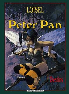 Couverture Peter Pan, tome 6 : Destins