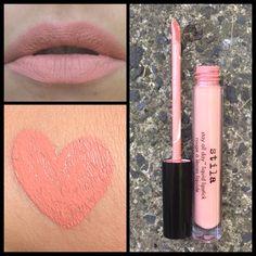 25. Stila Stay All Day Liquid Lipstick: Bellisima #LipSwatch #Lipstick #Stila #Makeup #Beauty