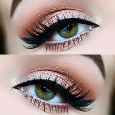 Lovely Eye Makeup For Prom ★ See more: http://glaminati.com/eye-makeup-for-prom/