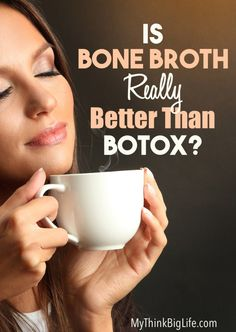 Is bone broth better than Botox? Bone broth is said to ERASE wrinkles, improve…
