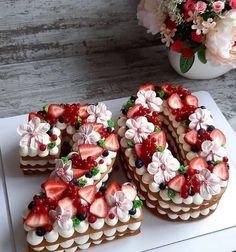 birthday cake decorating ideas for women birthday cake decorating Number Birthday Cakes, 20 Birthday Cake, Birthday Cakes For Women, Number Cakes, Birthday Cake Decorating, Fruit Birthday, 25th Birthday Ideas For Her, 20th Birthday, Happy Birthday