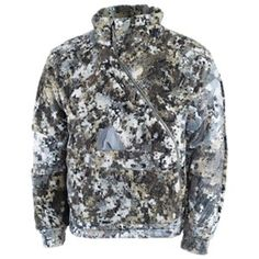 Celsius Midi Jacket Elevated II Camo by Sitka Gear Elevated II Large Hunting Jackets, Hunting Clothes, Hunting Gear, Camo Gear, Duck Hunting, Sitka Gear, Sitka Camo, Camo Patterns, Ms Gs