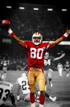02a197951 Jerry Rice - What greatness looks like Jerry Rice, Slam Dunk, Tennis, 49ers