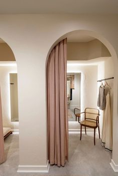 A very close replication of my vision for fitting rooms. Light and neutral  but still d7ec904c4793c