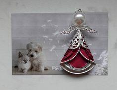 Christmas Angels, Christmas Gifts, Xmas, Bijoux Fil Aluminium, Coffee Pods, Angel Ornaments, Recycled Art, Metal Art, Decorative Bells