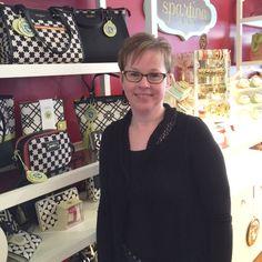 Tara at the Spartina 449 display