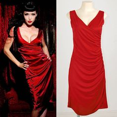 Rockabilly red dress