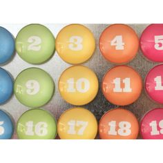Bigger 1 Rainbow Magnets Number Glass Magnets ($25) ❤ liked on Polyvore featuring home, home decor, office accessories, home & living, kitchen & dining, kitchen décor, refrigerator magnets, silver, magnets refrigerator and glass magnets