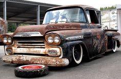 Chevy Apache Rat Rod - LGMSports.com