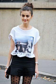 hello Natalia Alaverdian and your Donnie Darko tee. cool as babe. cool as. Paris.
