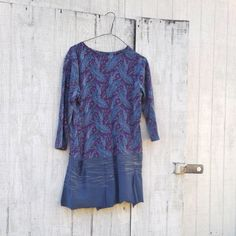 funky spring dress / eco dress / upcycled clothing / by CreoleSha, $67.99