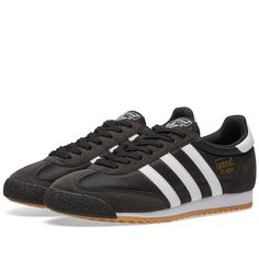 free shipping d2401 5efec Adidas Dragon OG (Core Black   White) Zapatos, Pared Lateral,  Superposiciones,