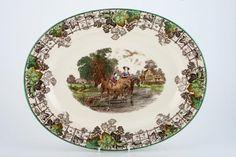 Spode - Byron - Spode's - Oval Plate / Platter
