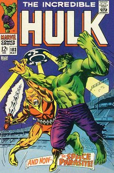 Incredible Hulk # 103 by Marie Severin & Frank Giacoia