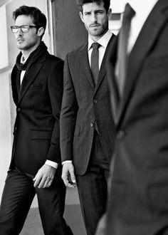 @Andi Schrock men in suits.