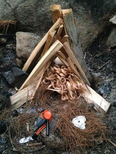 Fire Skills: Feather sticks, horse tail. you can have a knee high fire in under 10 min in the rain. prevent hypothermia