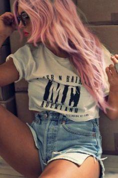 Cabelos pink