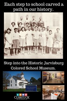 Explore the Historic Jarvisburg Colored School Museum in Currituck County, North Carolina. Listed on the National Registry of Historic Places since its restoration, the school opened in 1868. Learn about the commitment of the African-American community who worked together to provide an education for young children growing up in a segregated society. During February, Black History Month, the museum is open 10 to 3 p.m. Wednesdays, Thursdays and Saturdays…
