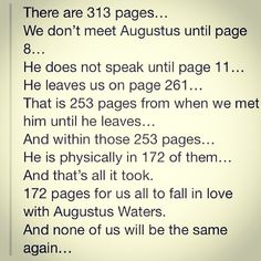 Augustus Waters Quotes Classy The Most Beautiful Quotes From The Fault In Our Stars  Pinterest .