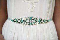 crystal sash that turns into a headband