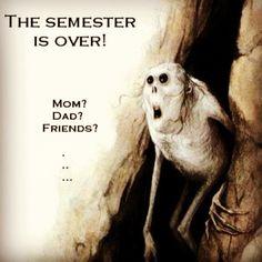 That feeling you get when you finish nursing school. I remember how I couldn't wait! #NursingLOL #NursingHumor